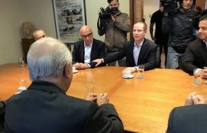 Se reúne Ricardo Anaya con expresidentes de Chile