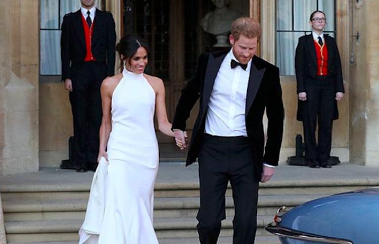 Stella McCartney venderá réplicas del vestido real de la recepción para la boda de Meghan Markle