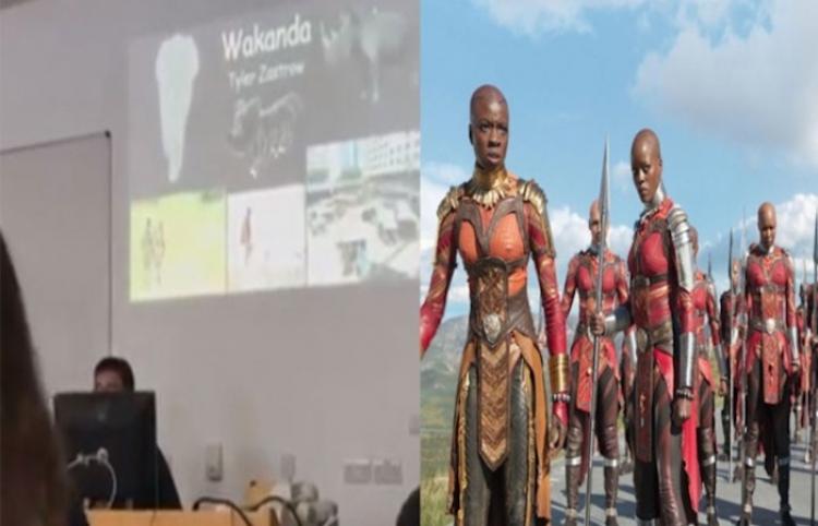 Estudiante hace creer a maestra que 'Wakanda' es un lugar real