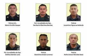 Detienen a otros 6 presuntos implicados en muerte de policías en Guerrero