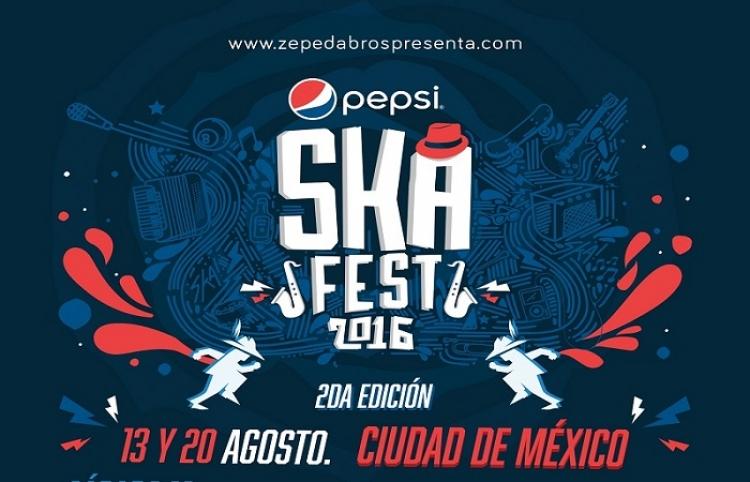 Los Calzones y Los Tres Puntos encabezan cartel del Pepsi Ska Fest
