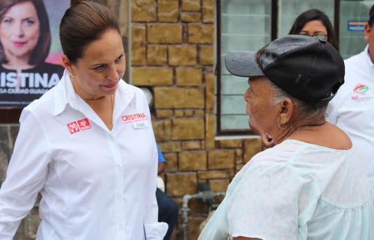 Promete Cristina Diaz un sistema informático en cuanto a seguridad en Gdp