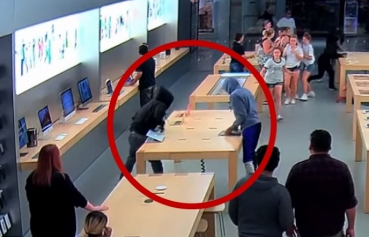 Se salen con la suya y roban más de 27 mil dólares en productos de una Apple Store