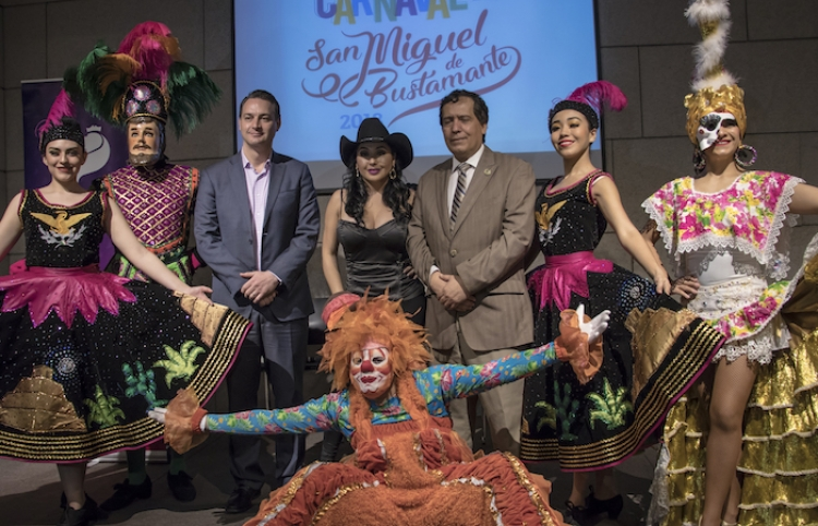 Nuevo León de fiesta con el Carnaval de San Miguel de Bustamante