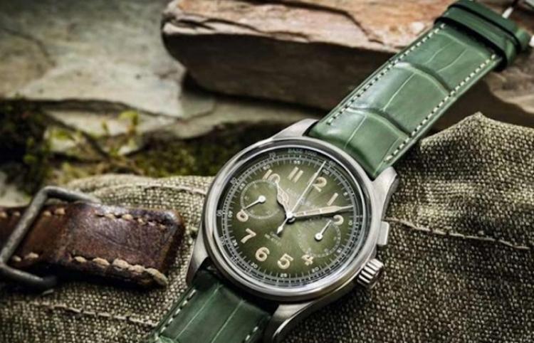 Verde, el color del año en la relojería