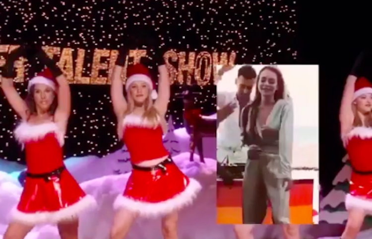Escena de Mean Girls 'That's the jingle bell rock' actualizada