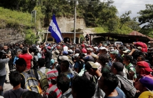 Policía Federal recupera el orden en frontera sur por llegada de migrantes