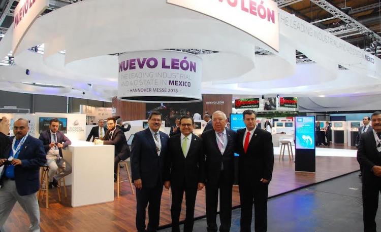 Nuevo León está presente en la Feria internacional Hannover Messe 2018