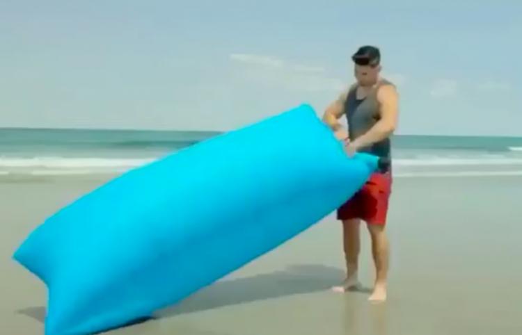 Teletienda Vs Realidad: Colchones portátiles inflables para playa