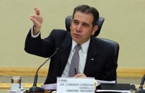 Autoridad electoral es escrupulosa de sus atribuciones, reitera Córdova