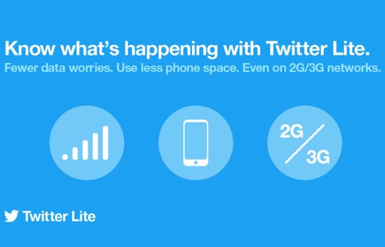 Twitter Lite, disponible en 21 países más