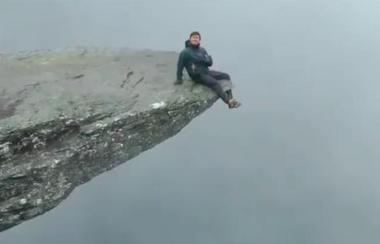 Conoce la montaña del Trueno en Noruega