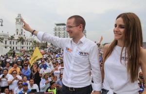 Cierra Anaya campaña en Veracruz; agradece esfuerzos del Frente