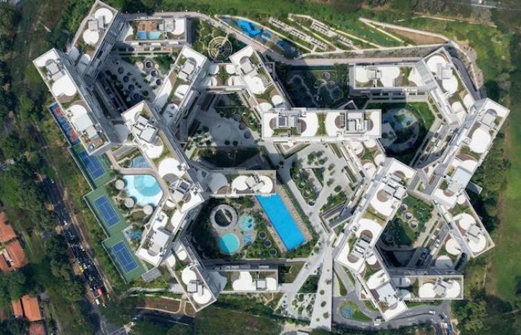 Singapur tiene una de las obras arquitectónicas más innovadoras...