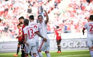 Bayern Munich sigue con su paso ganador y golea 3-0 al Hannover