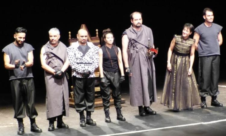 """La puesta en escena """"El rey y sus dominios"""" llega a la Capilla Gótica"""