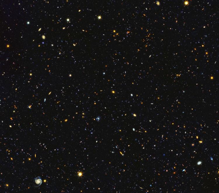 """Telescopio Hubble capta el """"fuego y la furia"""" del nacimiento de las estrellas"""