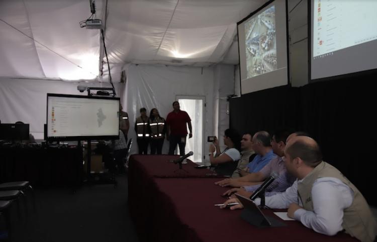 Realizan en Nuevo León simulacro de resultados electorales preliminares
