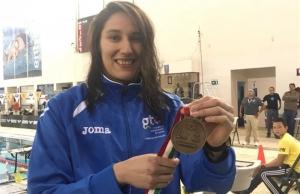 """Nadadora Ibáñez, la """"Dama de Hierro"""" mexicana para Barranquilla 2018"""
