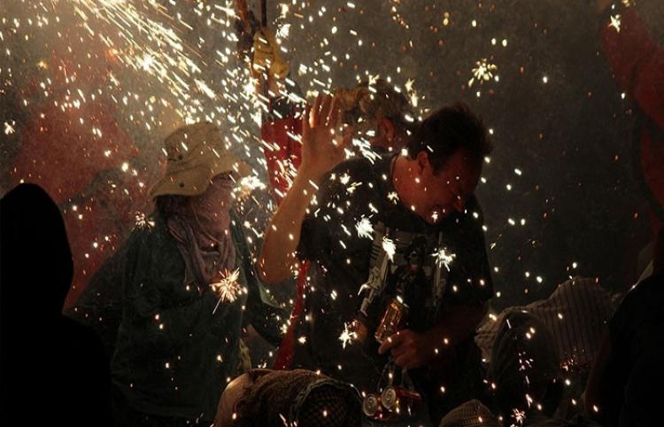 Incendio convierte en infierno la celebración de una boda en México