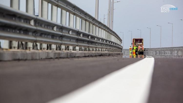 Arranca la etapa final de los trabajos del puente de Crimea