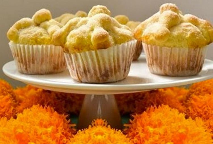 El original cupcake de pan de muerto que nació en 2010