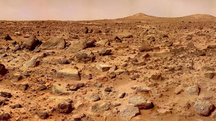 Las 'arañas' de Marte despiertan tras el invierno