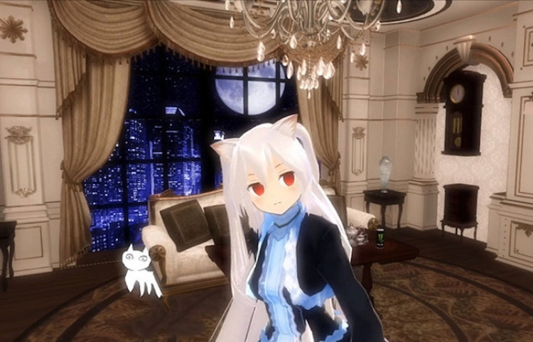 Un fallo técnico revela la verdadera identidad de una famosa 'niña gato' virtual