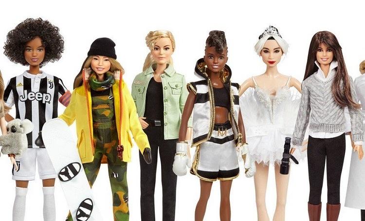 Las muñecas Barbie ahora se verán como las héroes que admiramos