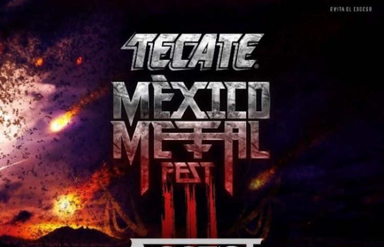 "Listos para ""Tecate México Metal Fest III"""