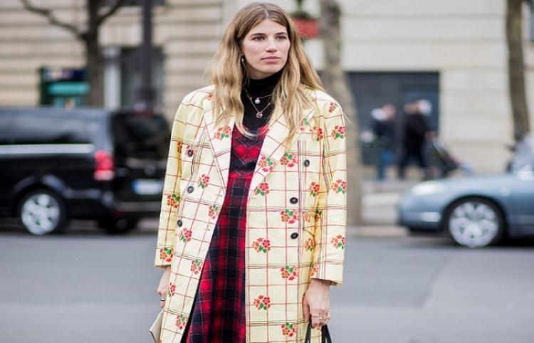 Cómo una estrella alemana del 'streetstyle' reinventó el arte de vestirse para el embarazo