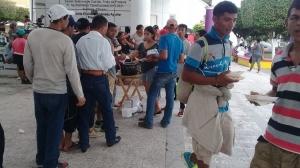 Atienden en albergues de Chiapas a migrantes centroamericanos