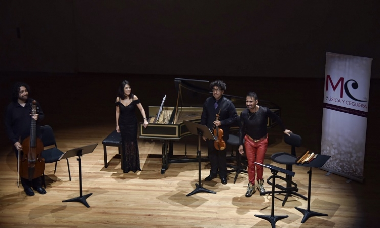 Con concierto, inicia el Festival de Música y Ceguera