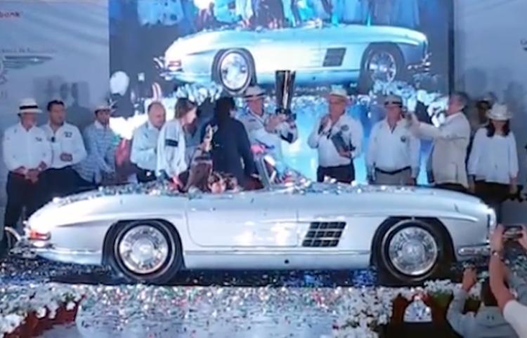 """Un Mercedes Benz SL 1959 gana el """"Best of Show"""" en Concurso de Elegancia"""