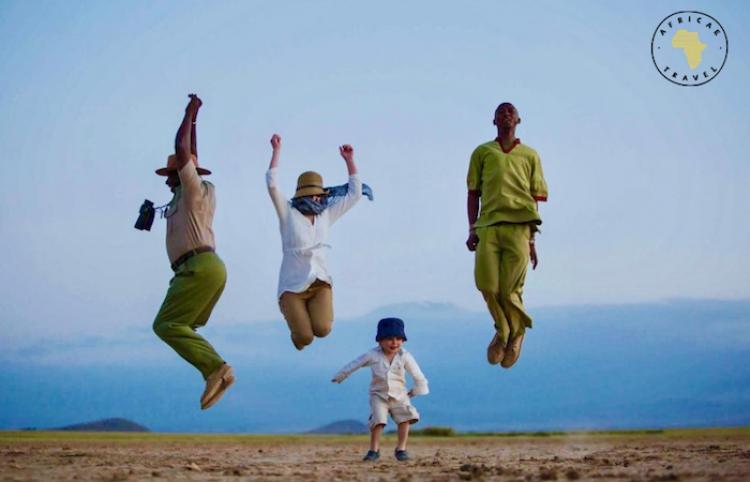 Viaja y visita un safari en familia con Africae Travel