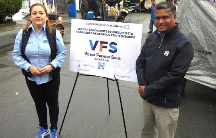 Víctor Fuentes Solís con el reto de buscar un nuevo penal para Nuevo León
