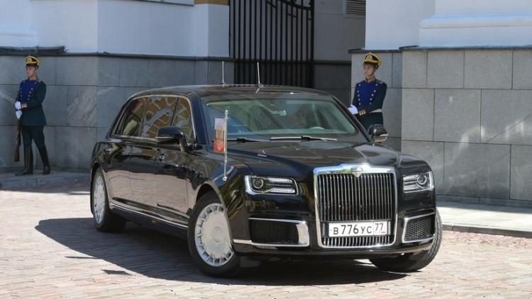 Los coches de lujo del proyecto ruso Kortezh despiertan interés en el extranjero