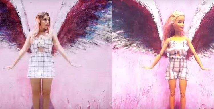 BARBIE imita el instagram de MARIALE - Lola Land