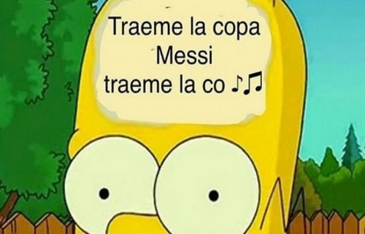 """""""Traeme la copa, Messi"""", el hit que se volvió viral en las redes"""