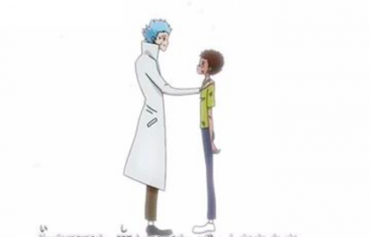 Si Rick & Morty fuera un anime
