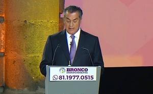 """Tribunal valida letrero de """"El Bronco"""" durante debate presidencial"""
