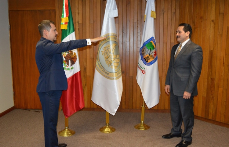 Designan a Esteban Cantú Montes como el nuevo Director General de la AEI