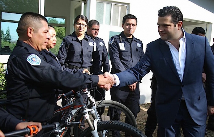 Inaugura Municipio de Guadalupe subestación de policía