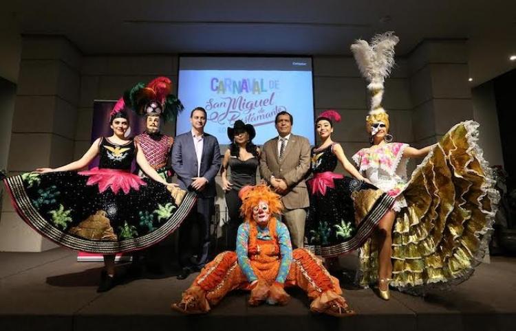 Invita Gobierno Ciudadano a Carnaval San Miguel de Bustamante
