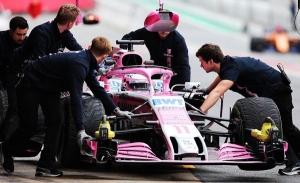 Mexicano Sergio Pérez espera sumar puntos en GP de Azerbaiyán de F1