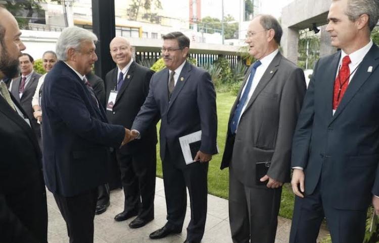 Se reúne Presidente Electo con representantes de la ANUIES