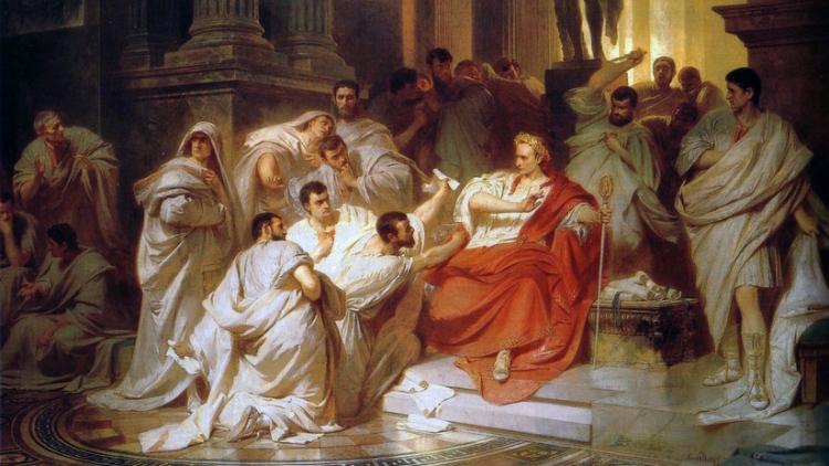 Una reconstrucción de la cabeza de César revela su forma extraordinaria