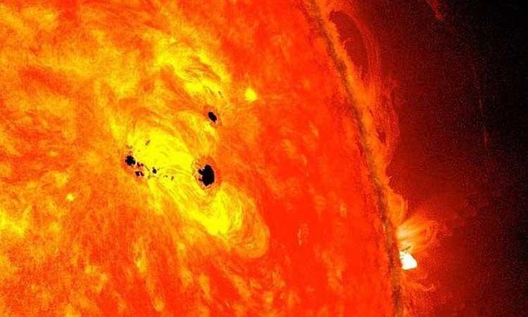 Tormenta solar de mañana lunes no debe alarmarnos