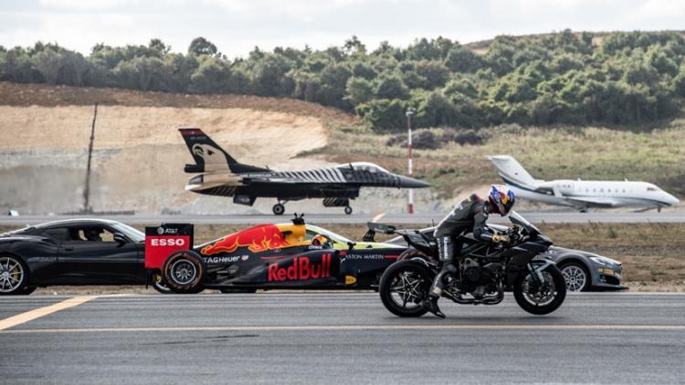 ¿Es más rápido un Tesla, un caza, una moto o un Fórmula 1?