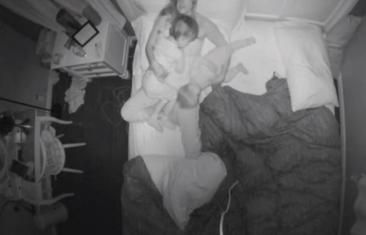 Una madre muestra lo difícil que puede ser una noche con chicos pequeños